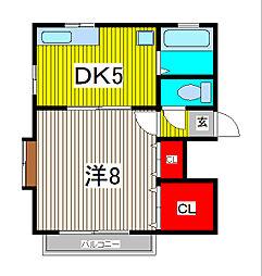MRA蕨中央[2階]の間取り