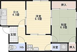 メゾン辻[3階]の間取り