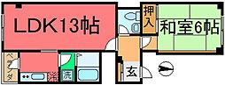 マンション・ライトコート[2階]の間取り