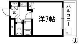 SUMマンション[2階]の間取り