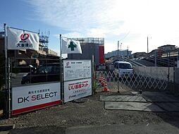東京都東大和市上北台3丁目の賃貸アパートの外観