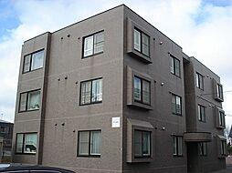 北海道札幌市北区篠路三条8丁目の賃貸マンションの外観
