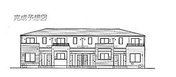 レーヴ グランドゥールB[1階]の外観