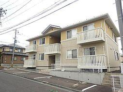 青森県八戸市南白山台2の賃貸アパートの外観