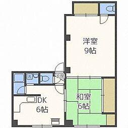 第11松井ビル[5階]の間取り