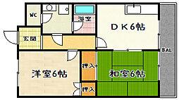 TSサニーコーポI[105号室]の間取り