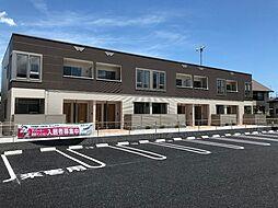 埼玉県深谷市東方の賃貸アパートの外観
