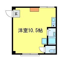 KSAマンション[301号室]の間取り