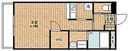 C&D apartment[3階]の間取り