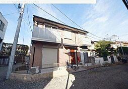 埼玉県川口市上青木の賃貸アパートの外観