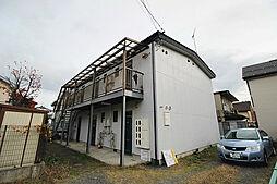 長野県長野市三輪6丁目の賃貸アパートの外観