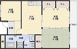 パブリックマンション[2階]の間取り