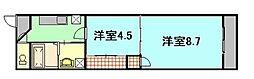 第24やたがいビル[6階]の間取り