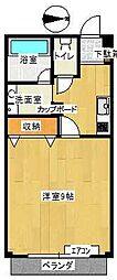 グランメゾントレビC棟[11号室]の間取り