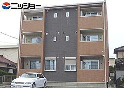 愛知県豊橋市山田二番町の賃貸アパートの外観