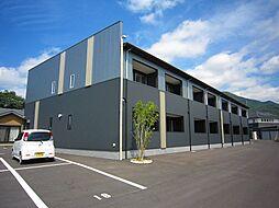 福岡県直方市大字畑の賃貸アパートの外観