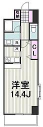 横浜市営地下鉄ブルーライン センター南駅 徒歩5分の賃貸マンション 3階1Kの間取り