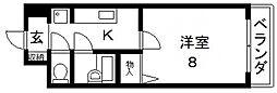 カデンツァK[305号室号室]の間取り