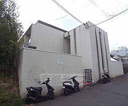 京都府京都市北区紫竹上ノ岸町の賃貸アパートの外観