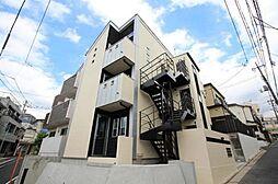 東京都板橋区若木2丁目の賃貸アパートの外観