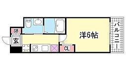 エステムプラザ神戸西4インフィニティ[306号室]の間取り