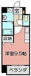 アクシオ小倉[403号室]の間取り