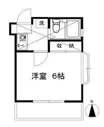 湘南台ドミール21C[1階]の間取り