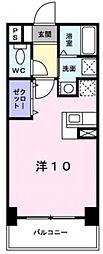 アット長田[6階]の間取り