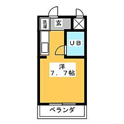 アオヤマハウス[3階]の間取り