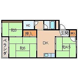 小池マンション[3階]の間取り