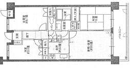 古江パークホームズ[2階]の間取り