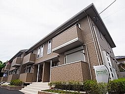 千葉県野田市山崎梅の台の賃貸アパートの外観