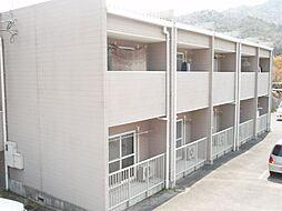 広島県広島市安佐南区山本6丁目の賃貸アパートの外観