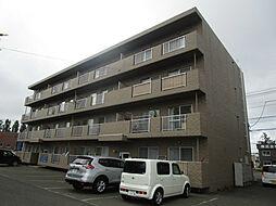 北海道札幌市北区篠路十条1丁目の賃貸マンションの外観