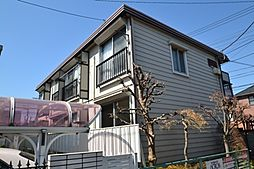 東京都練馬区上石神井1の賃貸アパートの外観