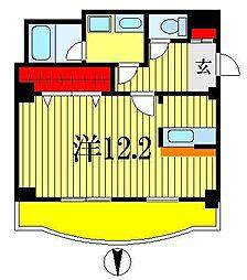 フィオーレ西船[3階]の間取り