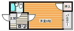 栄光ロイヤルハイツ[4階]の間取り