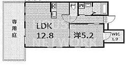 ラバンクール銀閣寺[103号室号室]の間取り