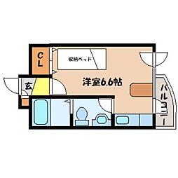 北海道札幌市北区北十七条西2丁目の賃貸マンションの間取り