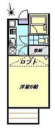 追浜桜ヒルズ[103号室]の間取り