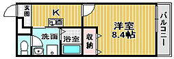 大阪府泉大津市東助松町4丁目の賃貸アパートの間取り