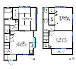 [テラスハウス] 神奈川県藤沢市大庭 の賃貸【/】の間取り