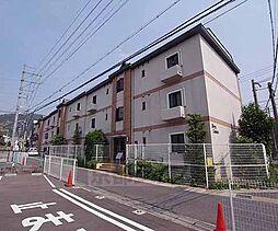 京都府京都市山科区小山南溝町の賃貸マンションの外観