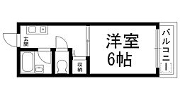ロータリーM出口[0403号室]の間取り