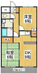 コンフォース[1階]の間取り