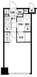 ラビバーレ阪東橋[3階]の間取り