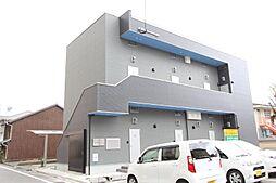 福岡県北九州市小倉北区竪町1丁目の賃貸アパートの外観