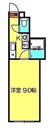 クリスタルセーディア[301号室号室]の間取り