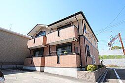 愛知県名古屋市中川区助光1丁目の賃貸アパートの外観