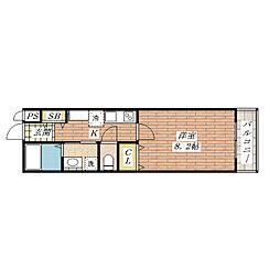 Casa Calma[1階]の間取り